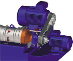 DecaDrive® Mechanical / Electrical Scroll Drive