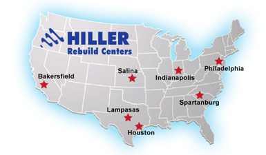 Map of rebuild centers